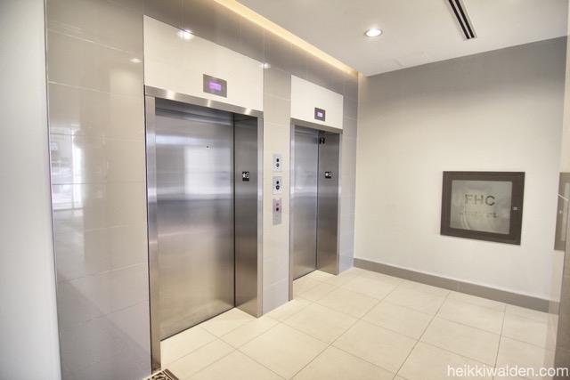 20 Gladstone Ave elevator lobby