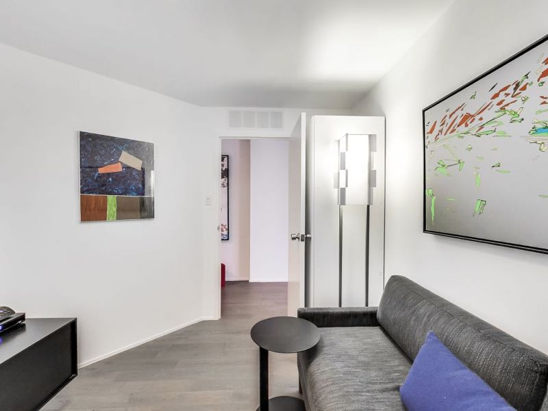 401 queens quay w 502 separate den has door to offer privacy from rest of living area