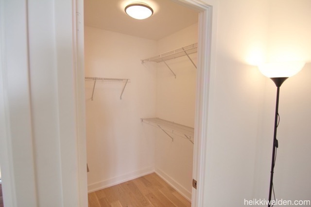 The Carnaby 11 Peel Ave Walk-in closet master bedroom