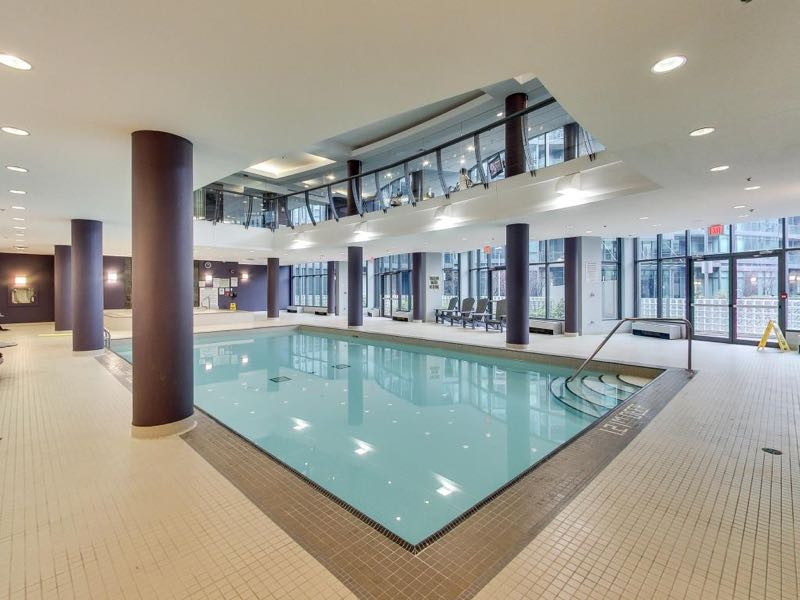231 Fort York Blvd indoor swimming pool