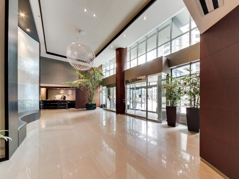 231 Fort York Blvd main lobby