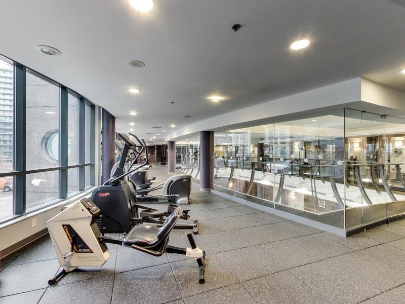 231 Fort York Blvd second floor gym